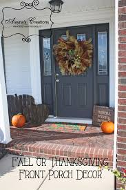 thanksgiving front door decorationsHow to Take Your Fall Front Porch from Halloween to Thanksgiving