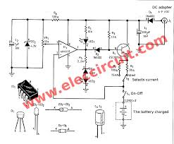 automatic nimh battery charger circuit using ic4558