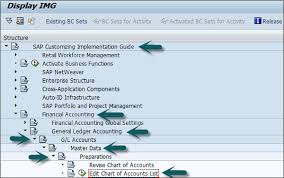 T Code To Display Chart Of Accounts In Sap Sap Fi General Ledger Tutorialspoint