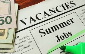 State Sees Significant Job Openings For Teens In Summer 2019