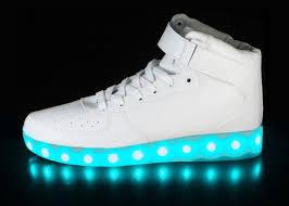 Led Light Shoes Near Me Led Shoes White Super Nova Hoverkicks For Adults