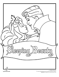 Small Picture Sleeping Beauty Coloring Page Woo Jr Kids Activities