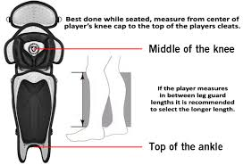 Mizuno Catchers Gear Size Chart Catchers Equipment Fitting Guide
