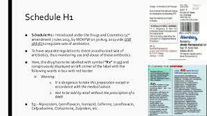 Medicines Schedule Current Affairs News Text