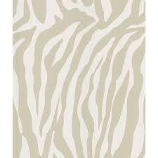 national geographic congo taupe zebra skin wallpaper sample