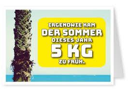 5 Kg Zu Früh Witzige Karten Sprüche Echte Postkarten Online
