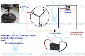 wiring diagram of ceiling fan regulator wiring diagram ceiling fan capacitor wiring connection diagram