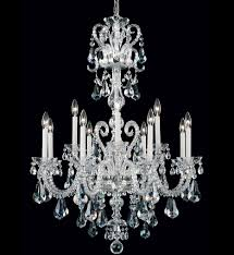 schonbek novielle 12 light crystal chandelier undefined