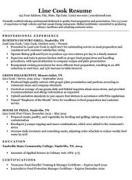 Professional Resume Examples 2020 Prep Cook Resume Sample Writing Tips Resume Companion