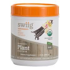 <b>Organic</b> Vanilla Ancient <b>Grains Plant Protein</b>   swiig