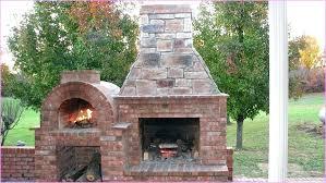 backyard pizza oven plans simple outdoor kit brick diy cob project build