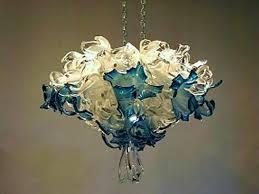 modern art glass chandelier hanging crystal ball x cool art glass chandelier