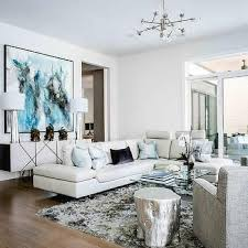 white leather couches with pillows. Perfect Couches Modern White Leather Sectional With Pale Blue Pillows Intended Couches With