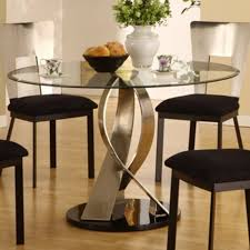 round glass top dining table design ideas intended for decorations 19