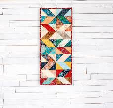 7 Table Runner Quilt Kits You'll Love & SaveTimeless Treasures Tonga Treat Prism Puzzle Table Runner Adamdwight.com