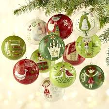 days of ornaments set crate and barrel regarding ornament tree red crate and barrel ornament