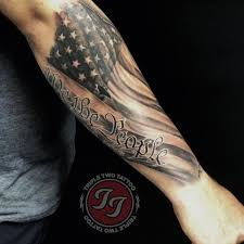 Little Murica Action On At Bocephusrtr Triple Two Tattoo Facebook