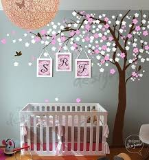 fabulous tree wall decal nursery p9585584 modern decorations baby nursery wall decals