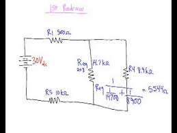 solving series parallel circuits youtube series and parallel circuit diagrams answer at Series And Parallel Circuits Diagrams