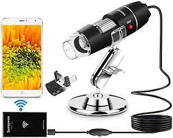 <b>Wifi</b> USB Microscope 1000x Digital Handheld Microscope: Amazon ...
