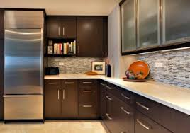 Dark Kitchen Cabinets with Light Quartz Countertops Redesign