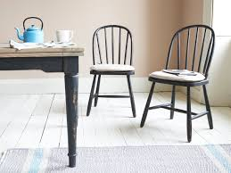 Black Kitchen Chairs Chortler Kitchen Chair Black Wooden Dining Chair Loaf