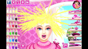 Barbie Dress Up Games Makeup Games Hair Cutting Games 2016