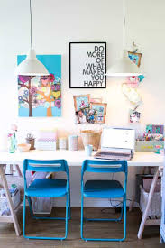 stylish home office desks. Home Office , Stylish Pendant Lighting : Fixtures Double Desks N