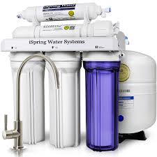 Whole Home Ro System Ispring Rcc7 Wqa Gold Seal Certified 5 Stage Reverse Osmosis