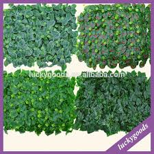 cp066 wall mounted high quality green leaf plant artificial walls for hall decoration