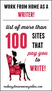 work from home writing jobs earning money and money today