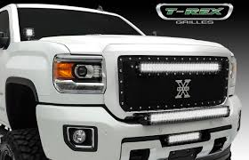 How To Install Led Lights In Car Exterior Troch Tech Led Grill Rhino Pro Truck Outfiitters