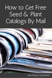 John Scheepers Kitchen Garden Seeds The Frugal Gardener How To Get Free Seed Plant Catalogs By Mail