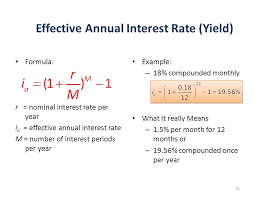 Monthly Interest Rate To Annual Commodity Market Crude Oil
