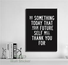 inspirational quote framed wall art