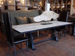 industrial kitchen table furniture. Vintage Industrial Wood Dining Table Kitchen Furniture I