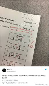 37 Epic Times Teachers Hilariously Trolled Their Students Bored Panda