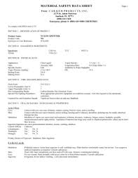 osha form 174 1 1 0 material safety data sheet