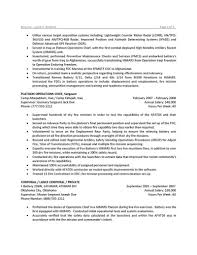 Military Resume 19 To Civilian Resumes Sample For Military To