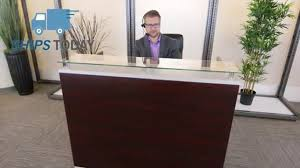 tops office furniture. glass top reception desk officefurniture youtube inside desks with tops u2013 luxury home office furniture