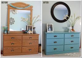 paint laminate furniturePainted Laminate Dresser Makeover  Homemade Chalk Paint  Simply