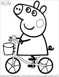 92de1f2f0f41b91ab68af2c83157398f peppa pig coloring pages in the coloring library coloring pages on coloring book pig