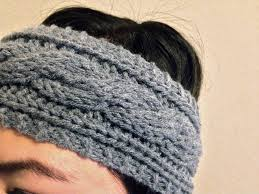 Free Knitted Headband Patterns Delectable Free Knit Headband Pattern Archives Lil Bit