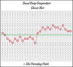 Hand Picked Basal Body Temperature Dip Babyhopes Basal Body