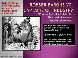 john d rockefeller captain of industry or robber baron rania  robber barons vs captains of industry
