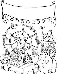Carnival Games Coloring Pages Coloring Pages Ideas Coloring