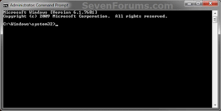 administrator command prompt shortcut