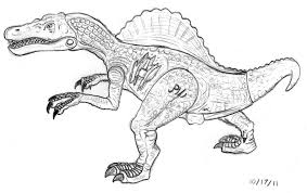 Small Picture For Kids Download Spinosaurus Coloring Pages 94 On Line Drawings