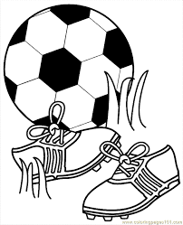 Small Picture Cleats And Soccer Ball Coloring PagesAndPrintable Coloring Pages