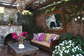 eclectic outdoor furniture. Rustic Outdoor Furniture Patio Eclectic With None. Image By: EANF